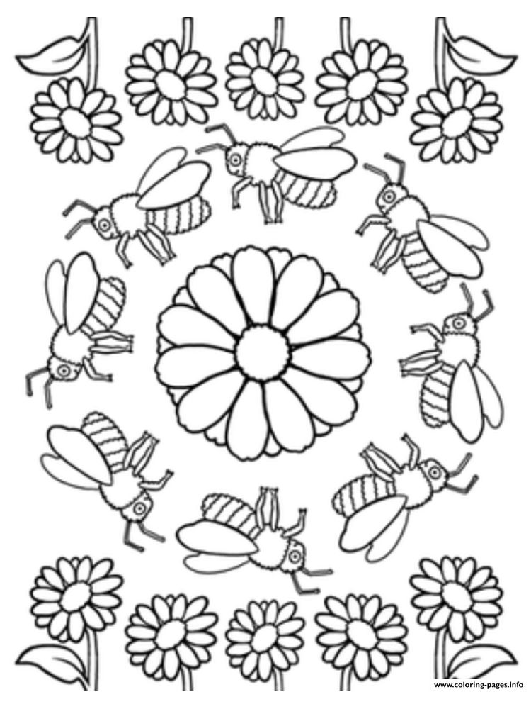 insects coloring pages supercoloring