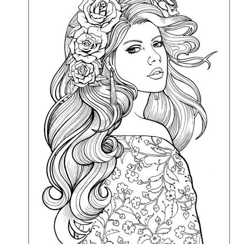 japanese people coloring pages