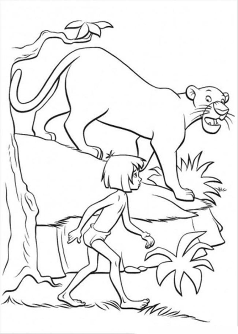 jungle book 2 coloring pages