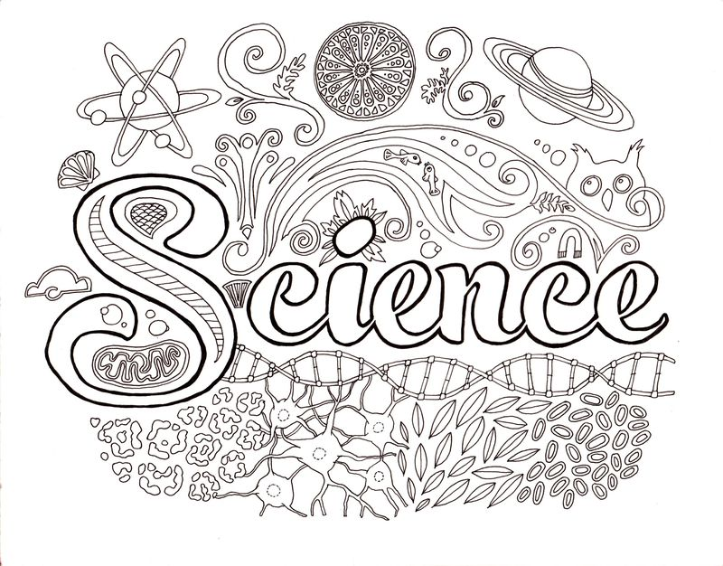kid the science kid coloring pages