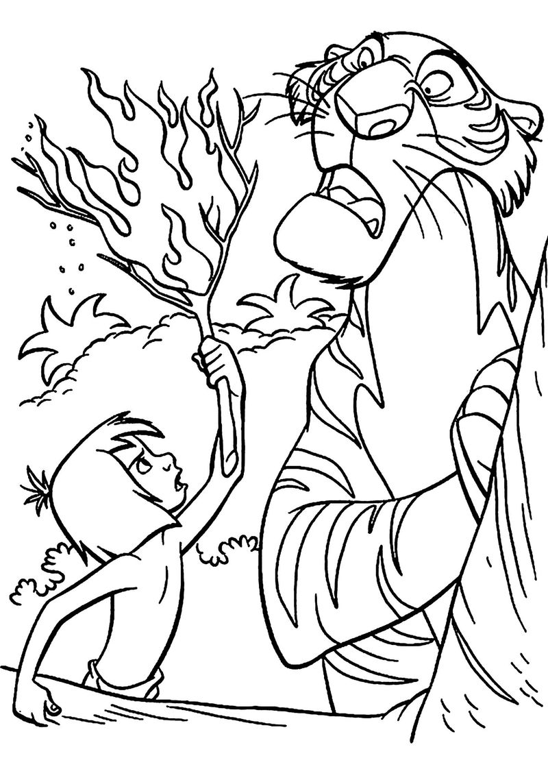 king louie jungle book coloring pages