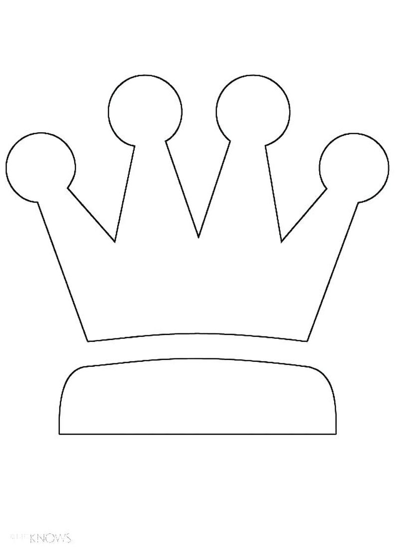 kings crown coloring pages