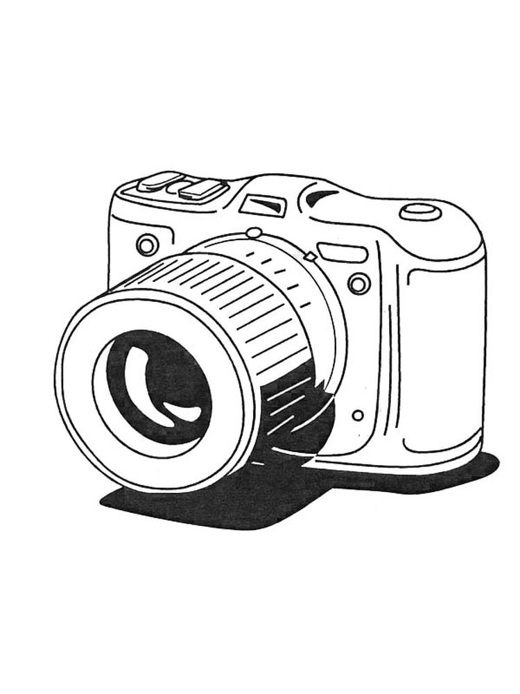 lights camera action coloring pages Printable