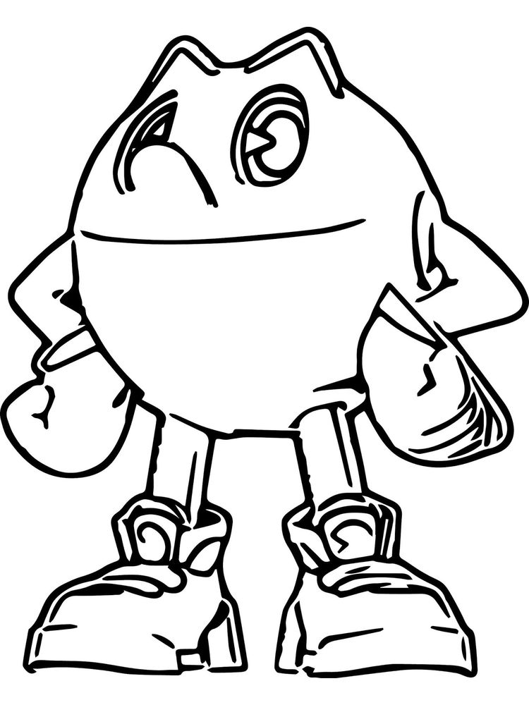 pacman coloring pages Printable Download