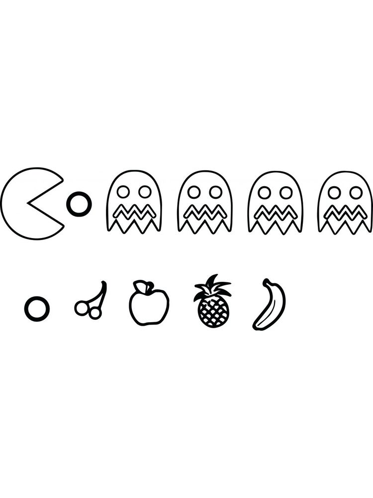 pacman coloring pages Printable Image