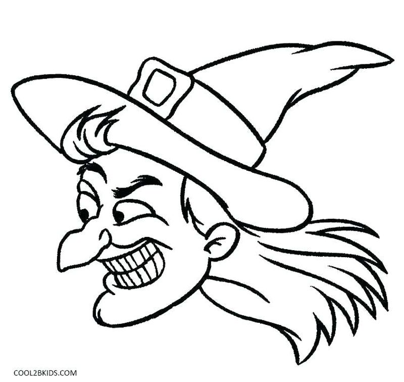 pdf free witch on a motorcycle coloring pages
