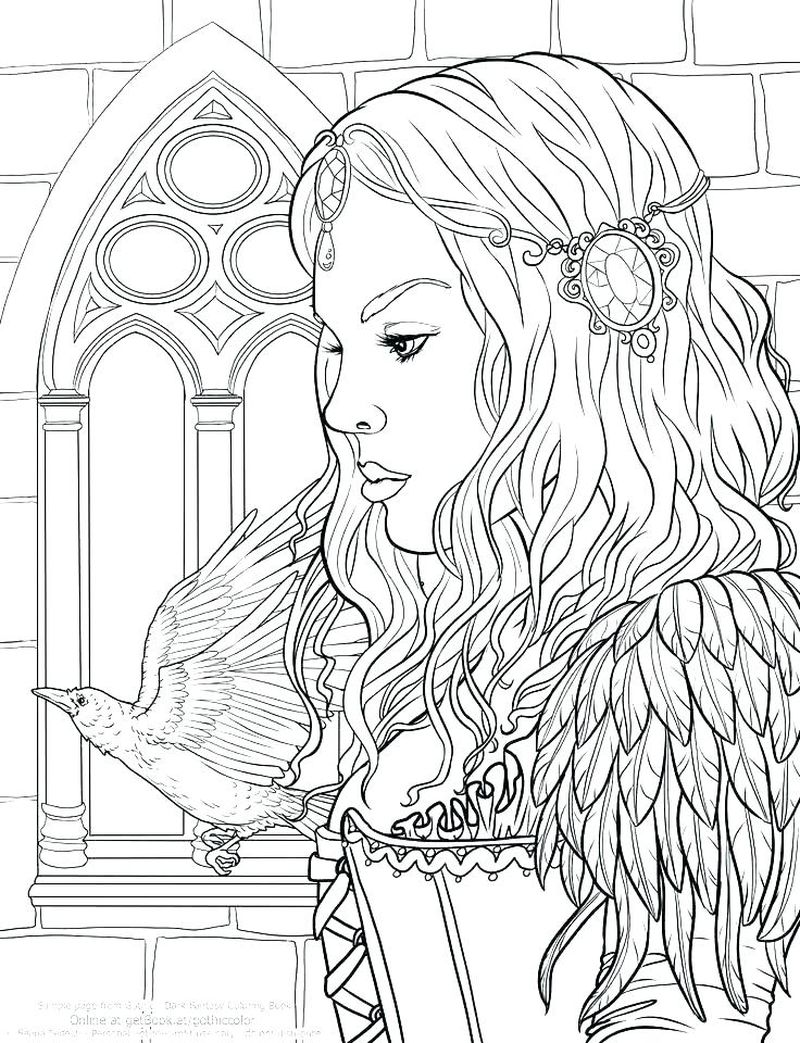 people coloring pages printable