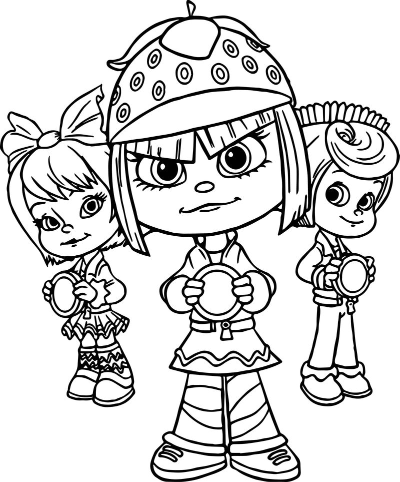 print coloring pages of wreck it ralph