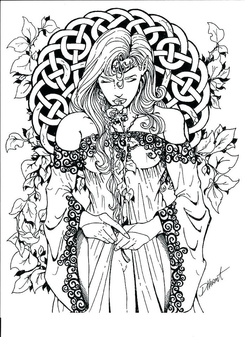 print witch broom coloring pages