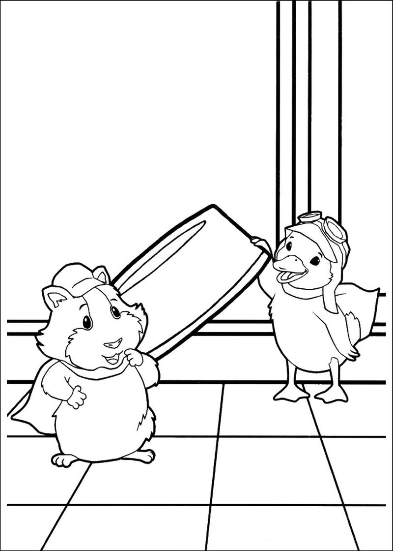puppies pictures to color