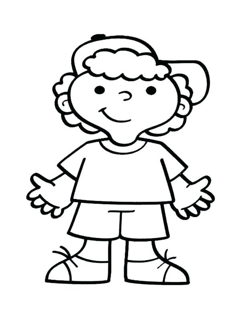 realistic girl people coloring pages