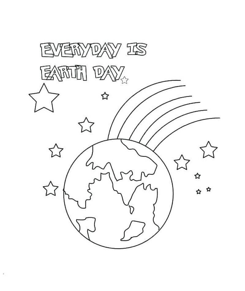 religious earth day coloring pages Printable
