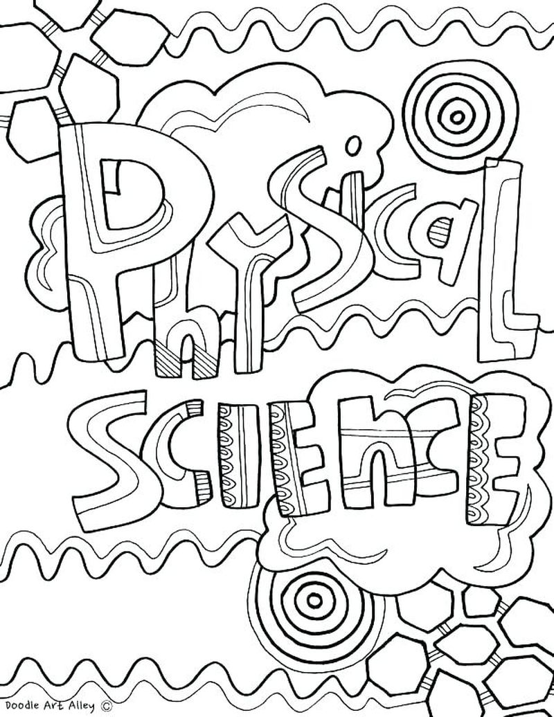 science center kids coloring pages