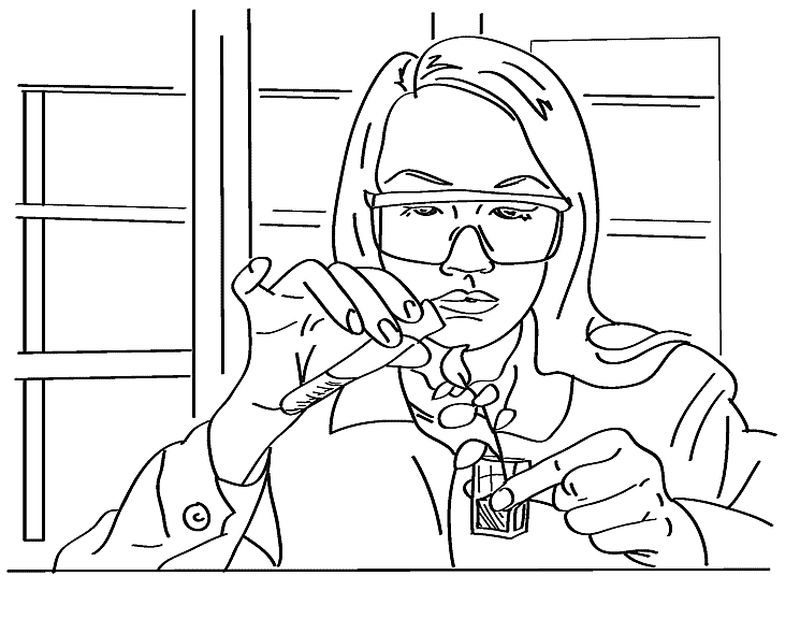 science coloring pages for kidsPrintable