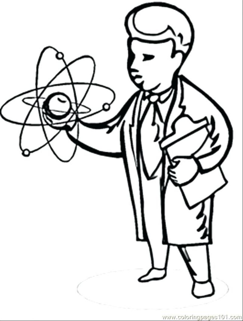 science coloring pages for teenagersPrintable