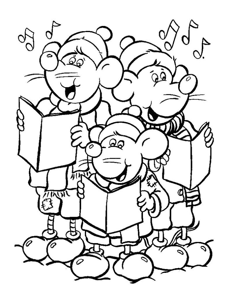 sing characters coloring pages Printable