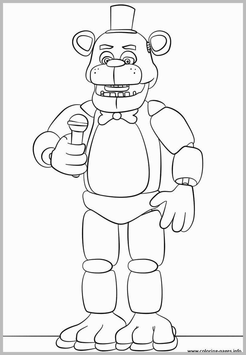sing coloring pages to print Printable