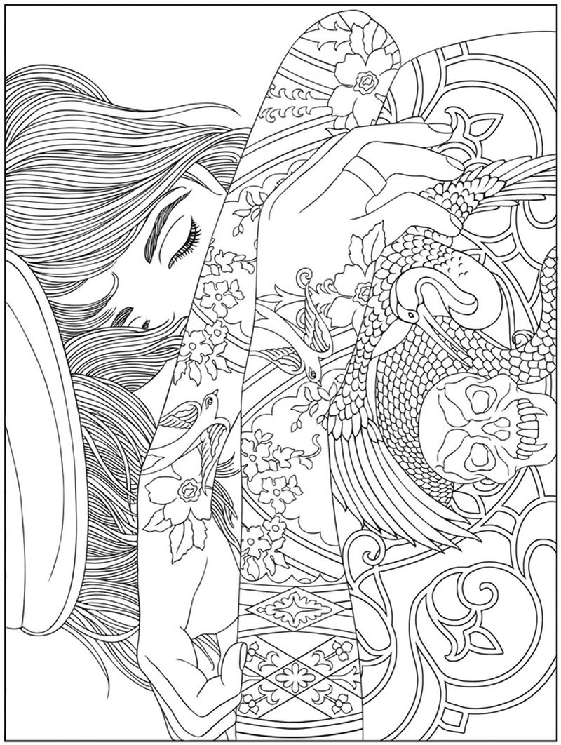 snow people coloring pages Printable