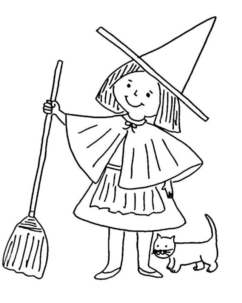 sofia witch coloring pages