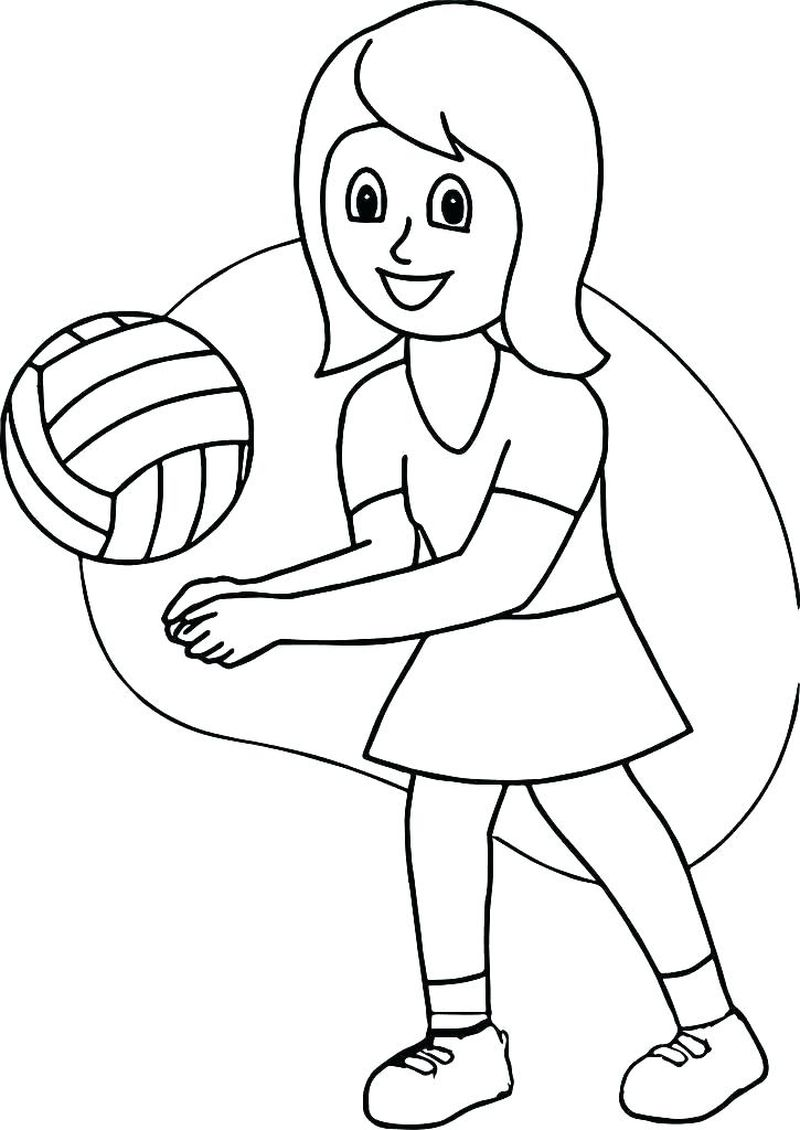 sports ball coloring pagesPrintable