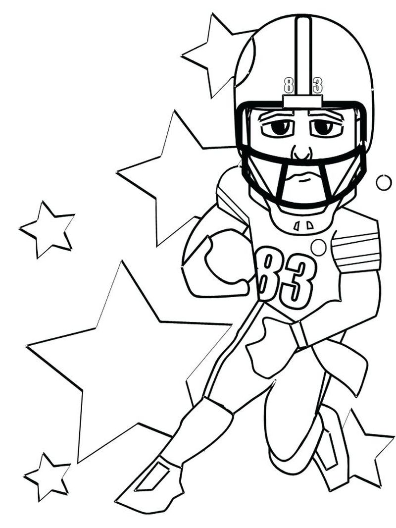 sports coloring pages for kids printable