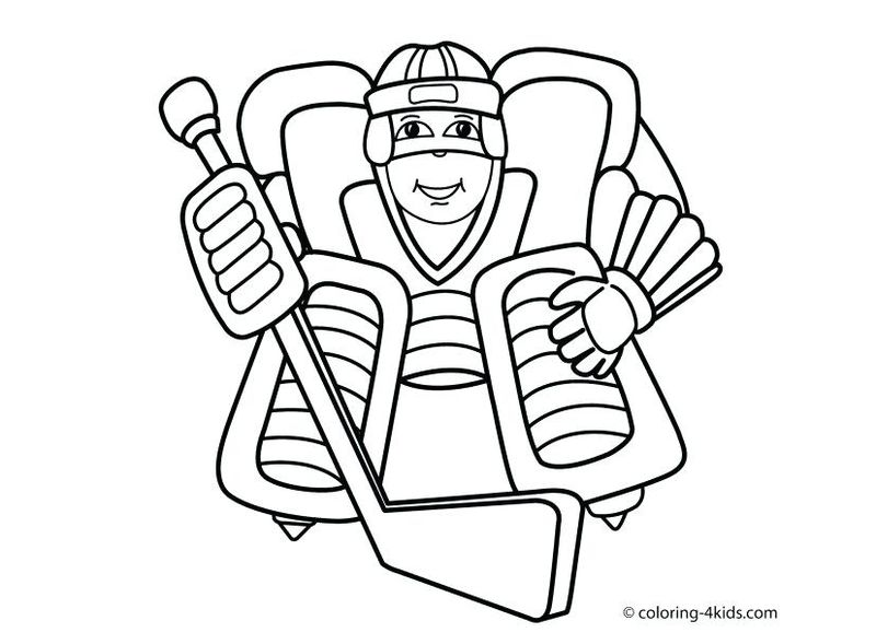 sports coloring pages for toddlers