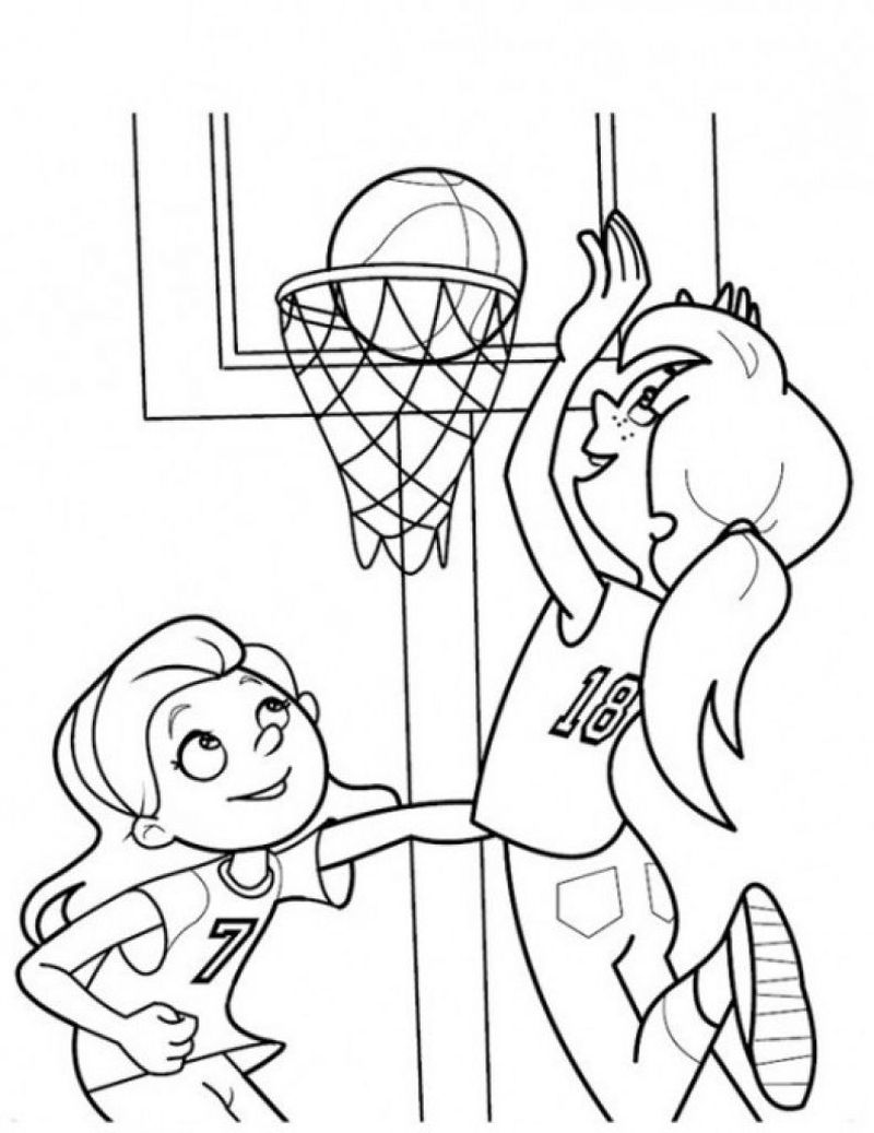 sports day coloring pagesPrintable