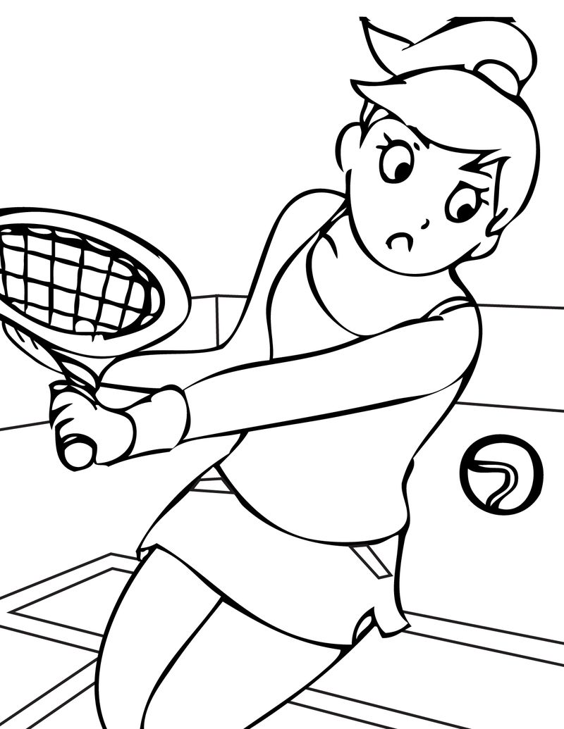 sports printables coloring pages