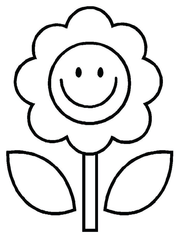 spring flower coloring pages pdf