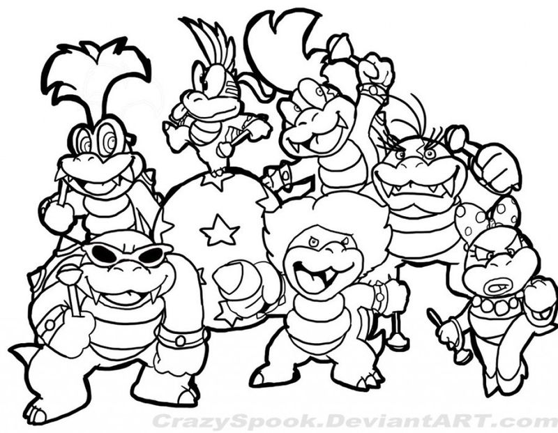 super mario coloring pages freePrintable