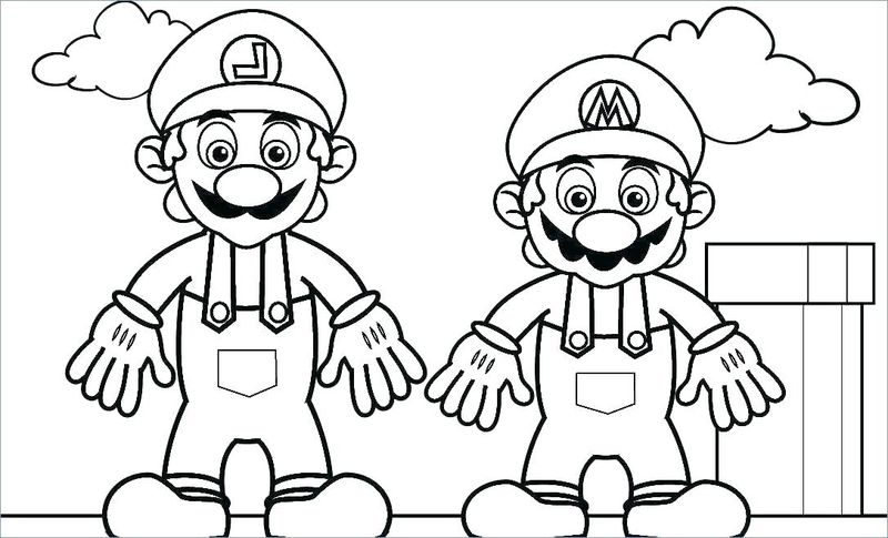 super mario coloring pages to printPrintable