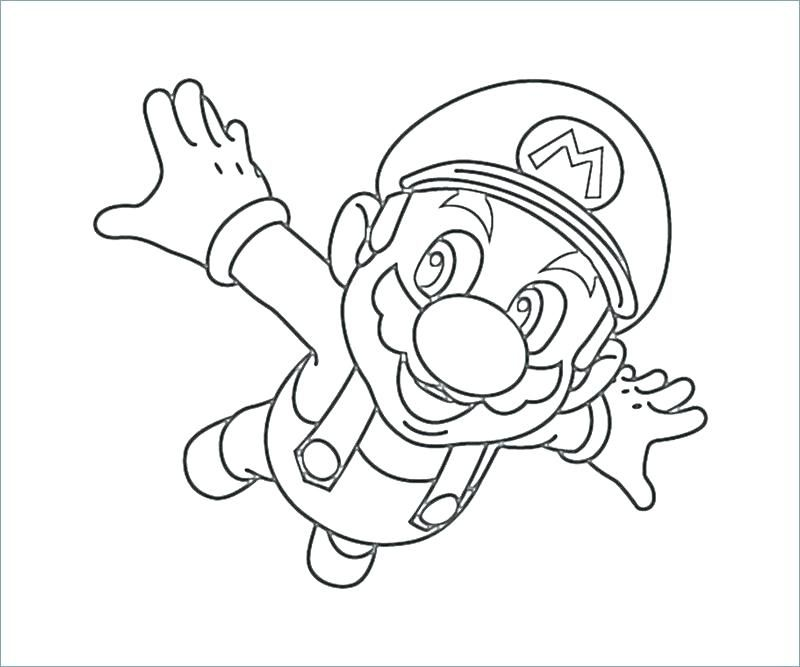 super mario daisy coloring pages