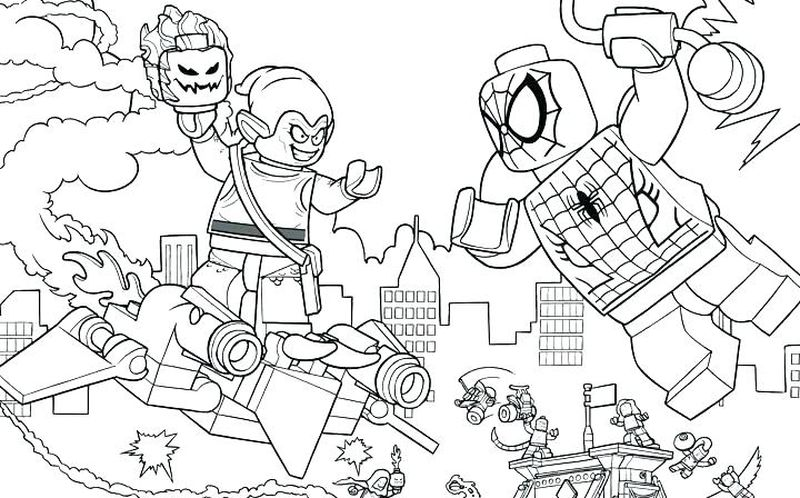 superhero coloring pages for adults