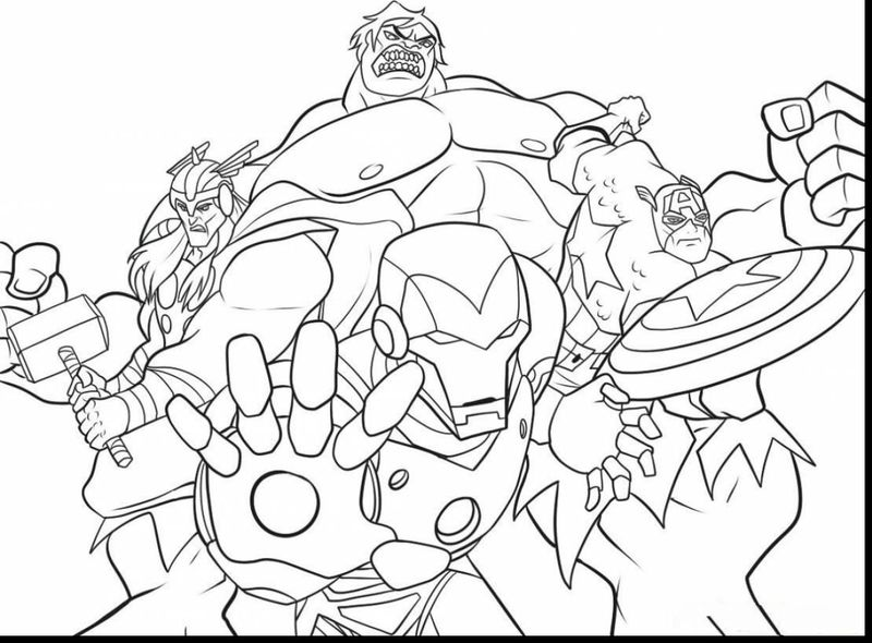 superhero coloring pages for boys