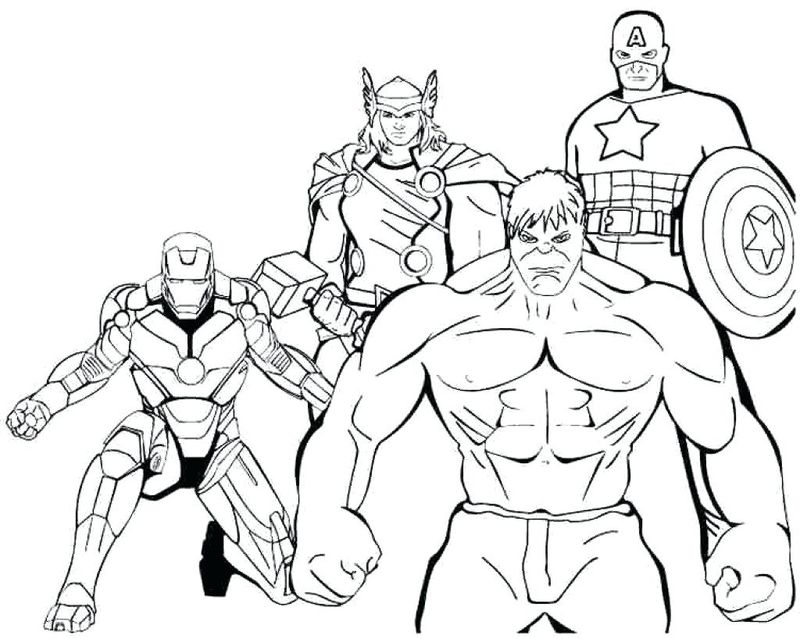 superhero coloring pages online Printable