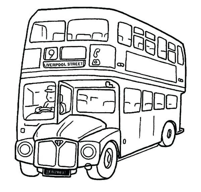 tayo bus coloring pages printable