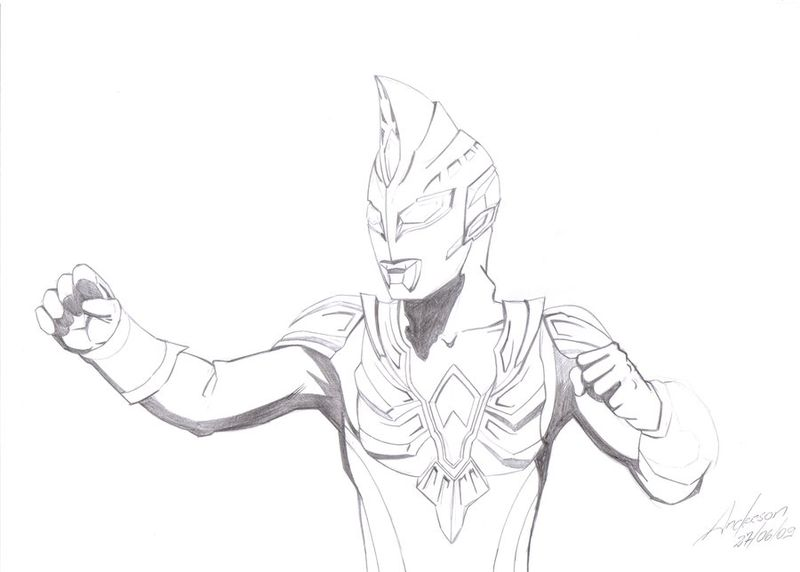ultraman coloring pages to print print