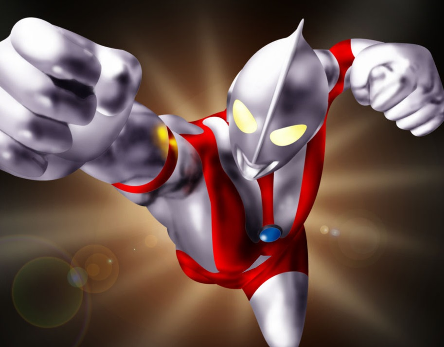 ultraman coloring