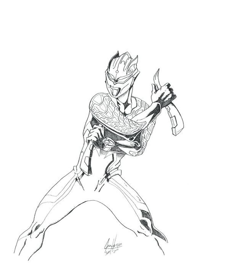 ultraman cosmos colouring pages