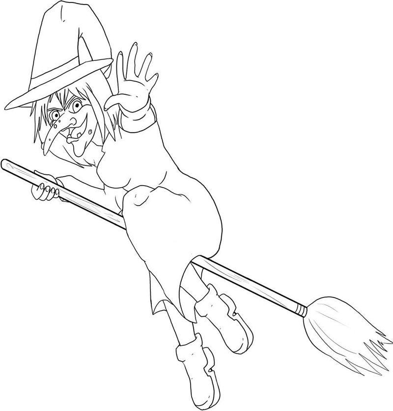 ursula the sea witch coloring pages Printable