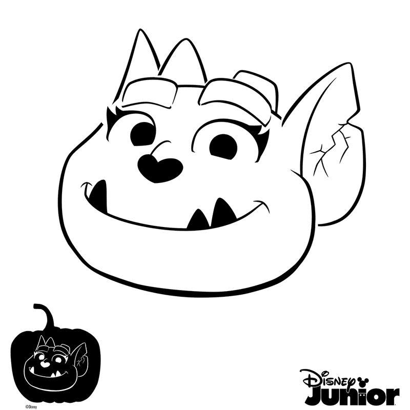 vampirina and friends coloring pages