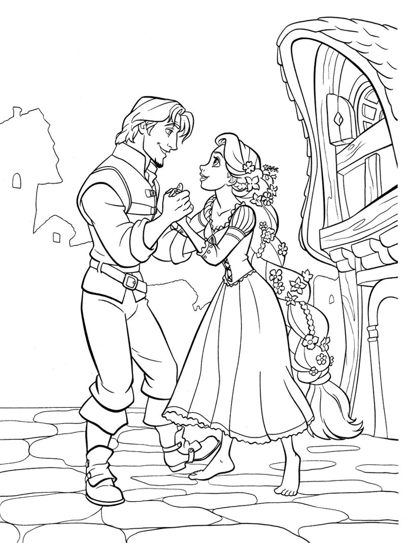 wedding activity coloring pages
