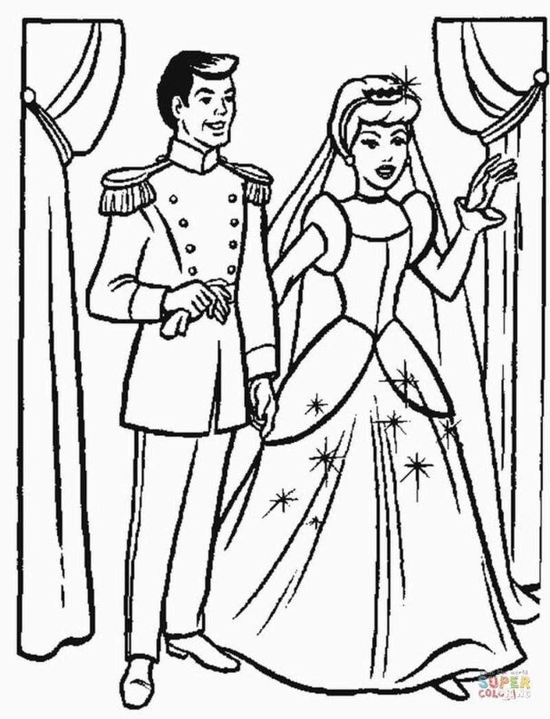 wedding bells coloring pages
