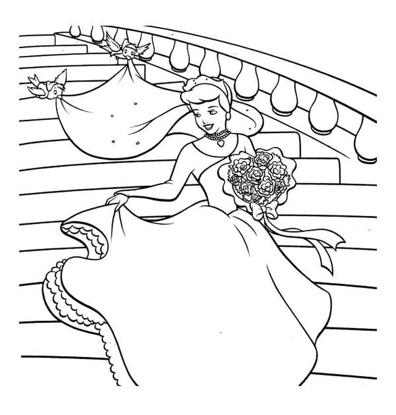 wedding coloring pages and activity