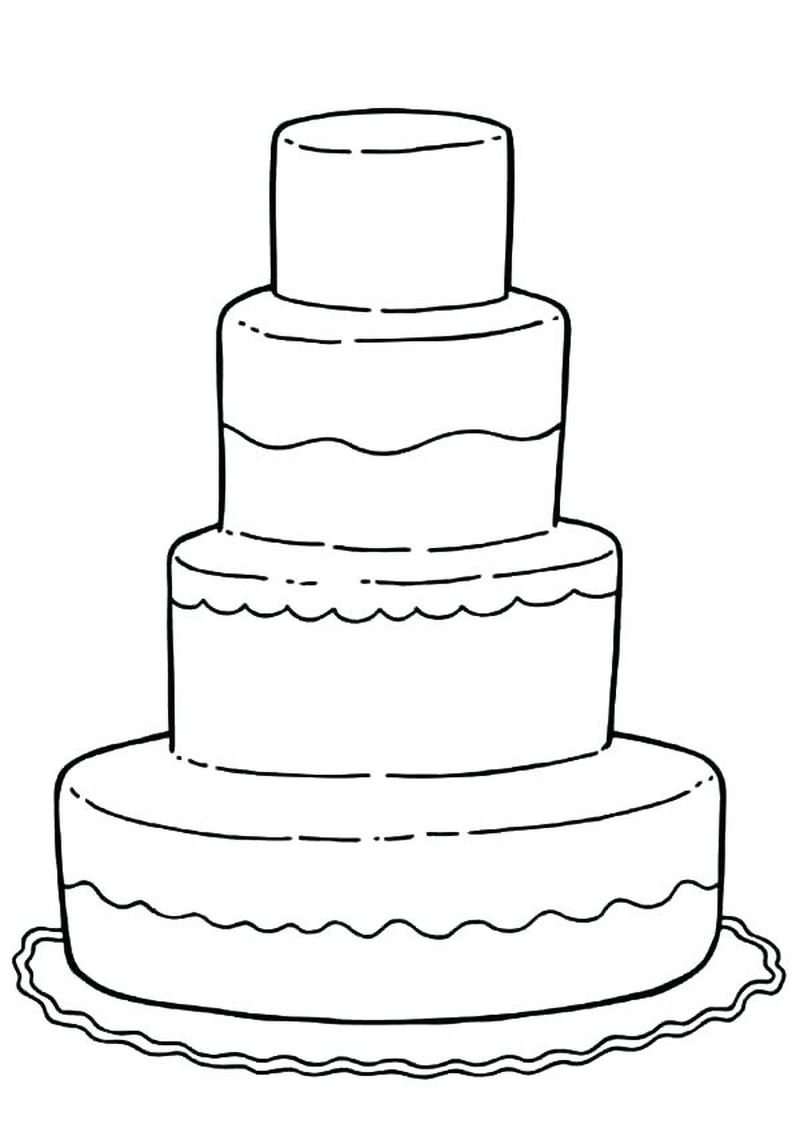 wedding coloring pages for kids under 4