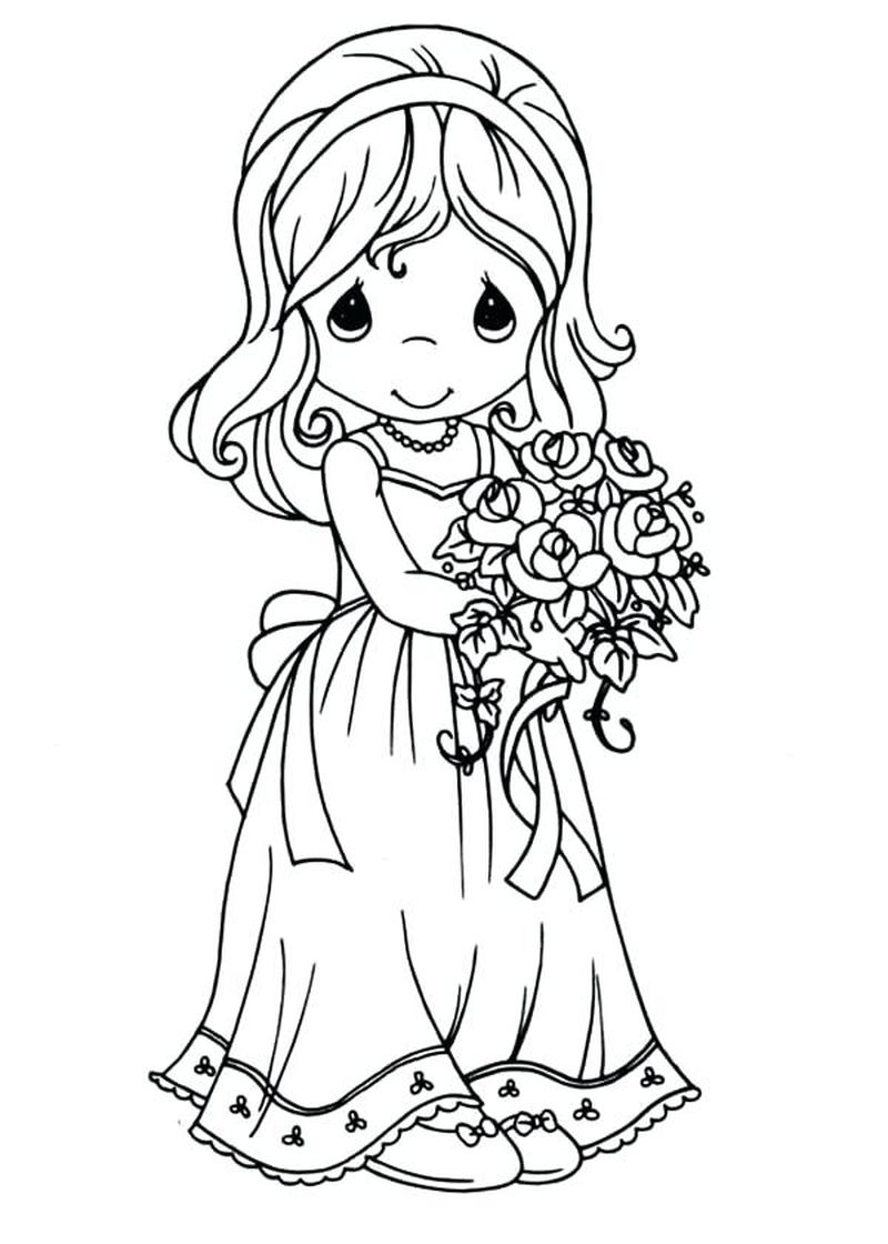 wedding coloring pages images Printable