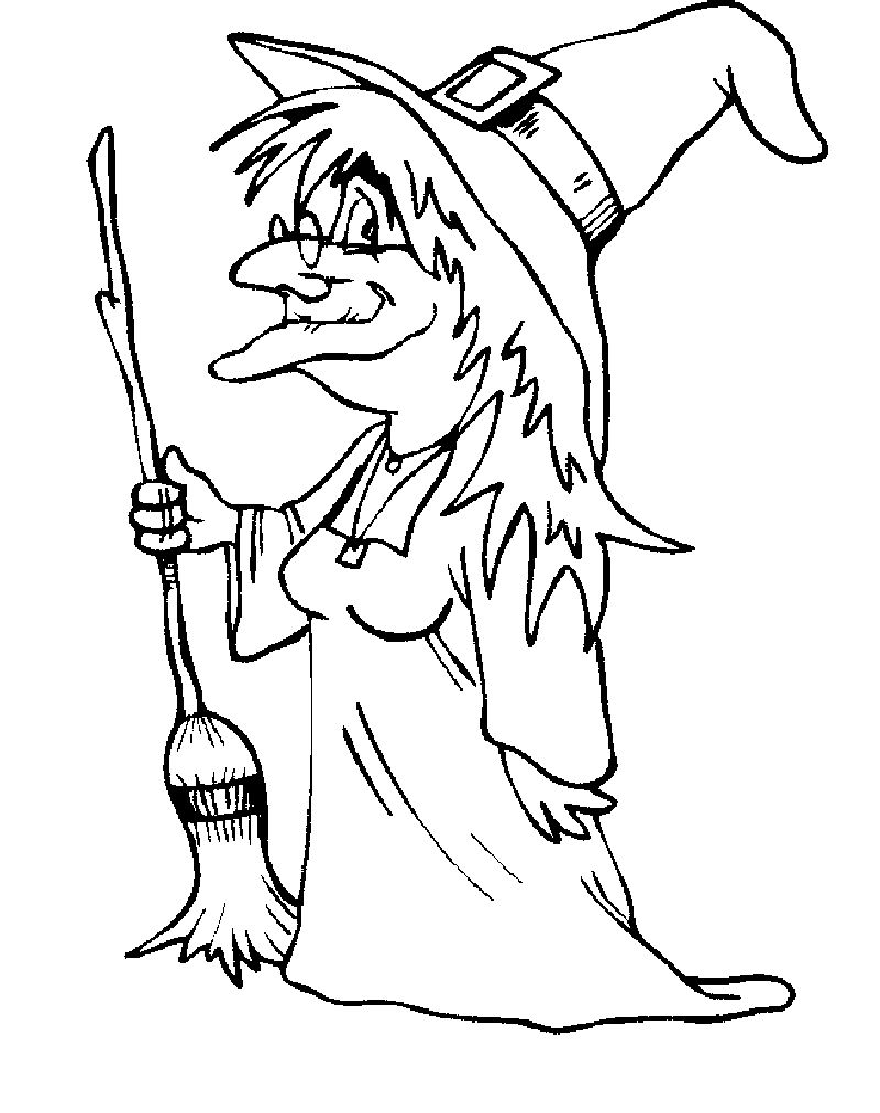 wicked witch coloring pages Printable