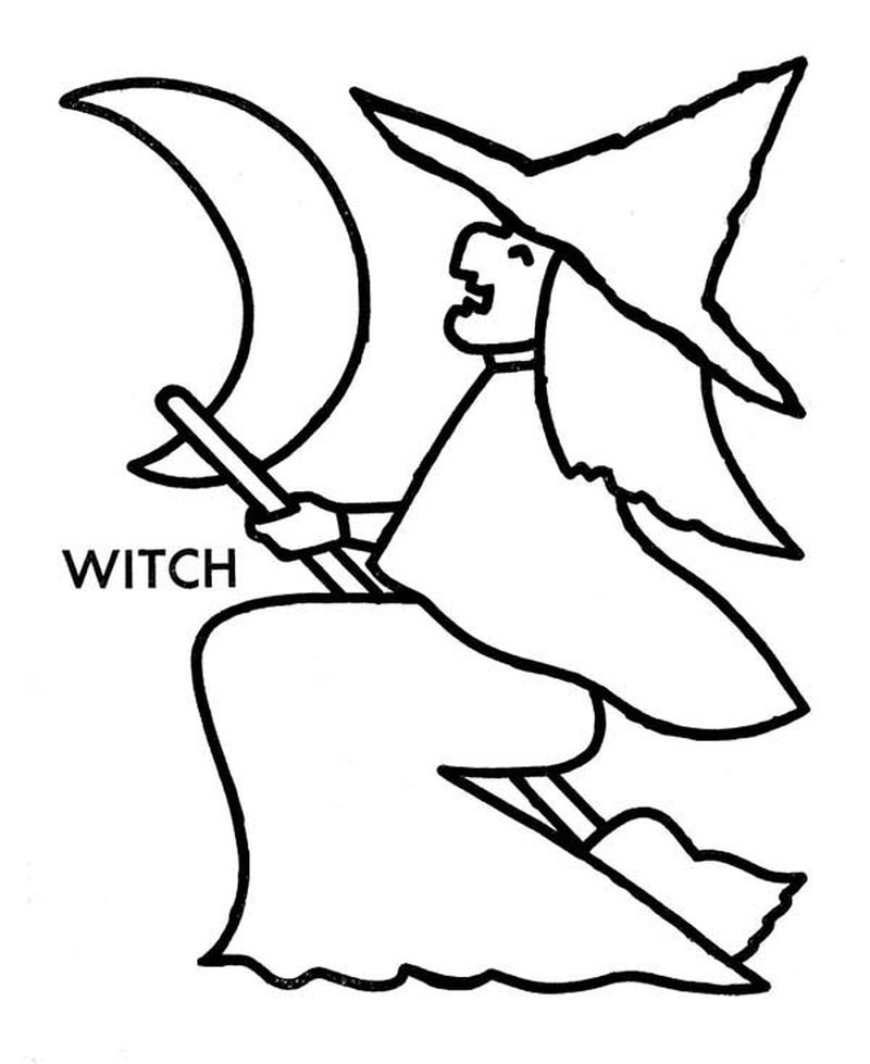 witch arms coloring pages Printable