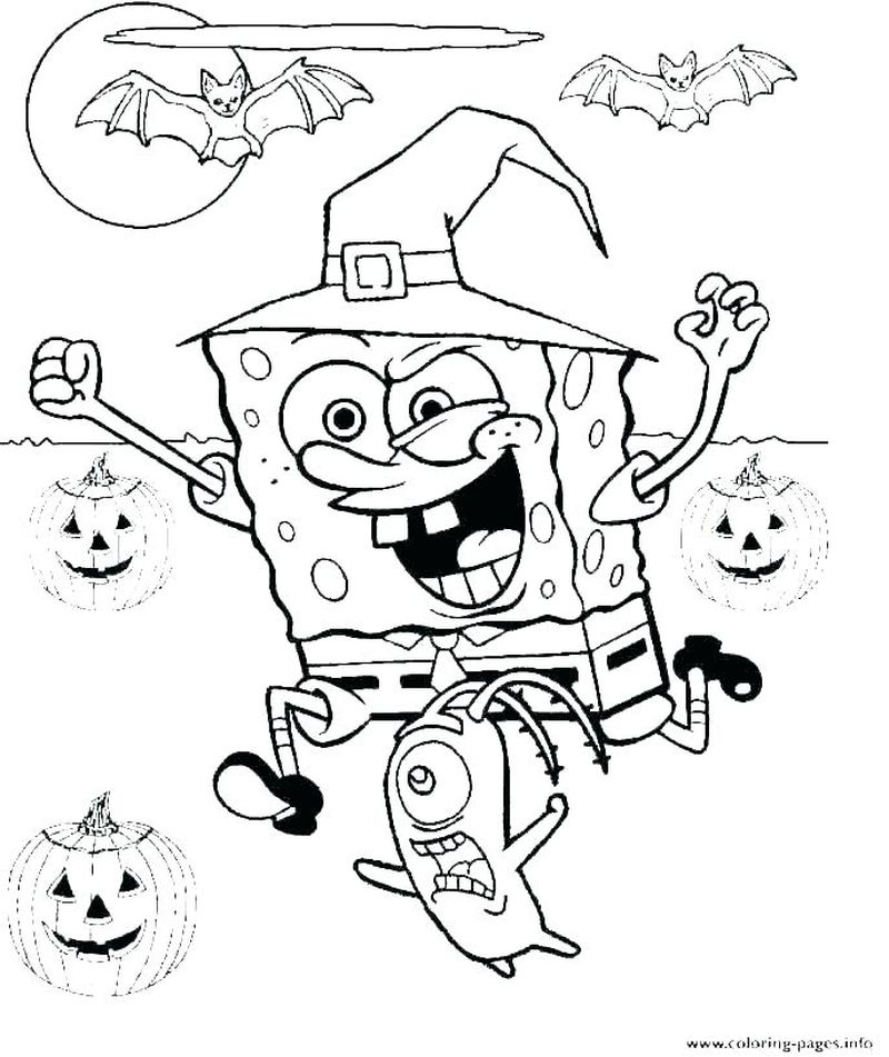 witch hat coloring pages Printable