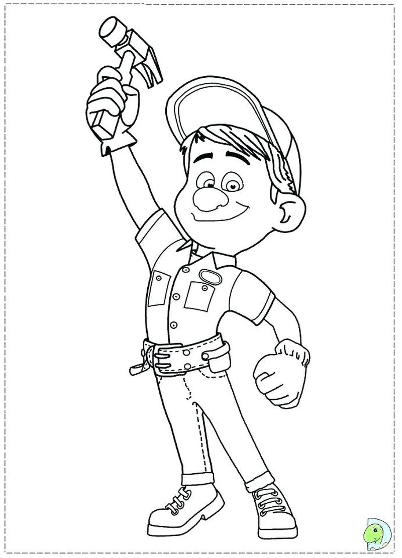 wreck it ralph 2 coloring pages pdf